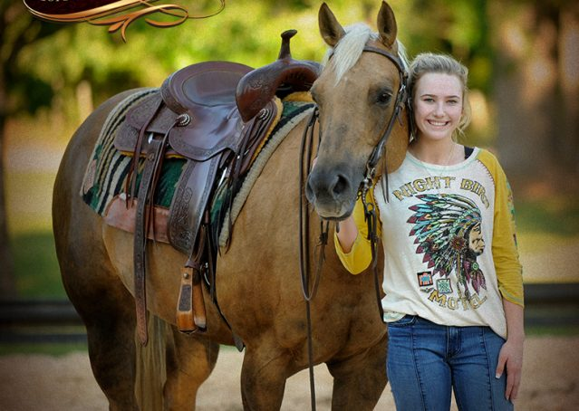 017-Angel-Palomino-Quarter-Horse-Mare-For-Sale