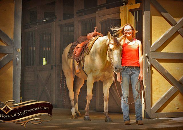 006-Gunsmoke-Buckskin-Quarter-Horse-Gelding