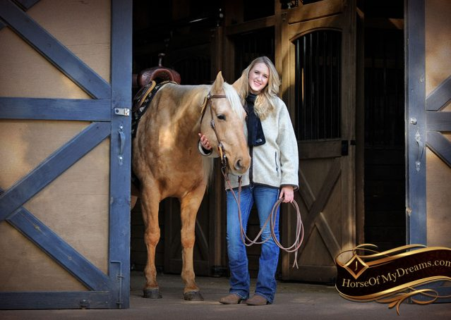 001-Clark-AQHA-Golden-Palomino-For-Sale-Flaxen-Mane