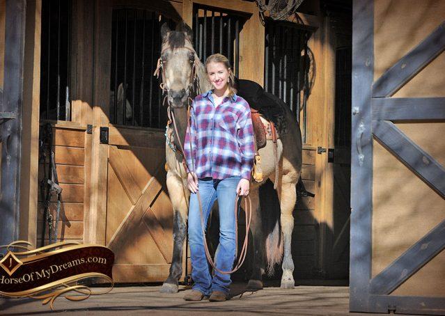 001-Timber-Buckskin-Quarter-Horse-Gelding-For-Sale-Trails-Family